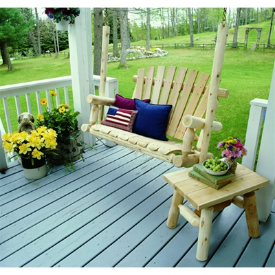 4' Outdoor Porch Swing