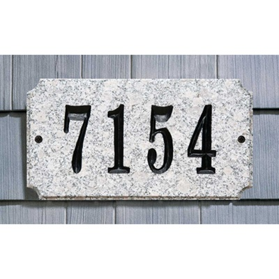 Executive Rectangle Solid Granite Sign