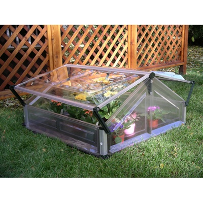 Coldframe Greenhouse - Double Unit