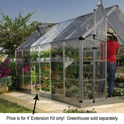 Snap & Grow Greenhouse 6' x 4' Extension Kit