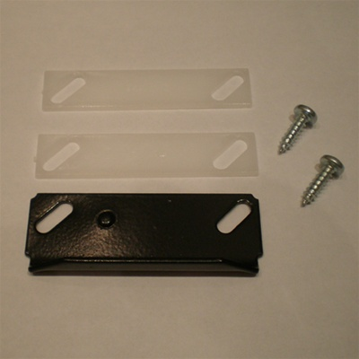 Strike Plate and Shims for Inside Handle or Deadbolt
