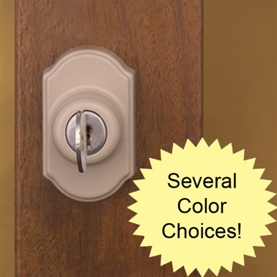Deadbolt Lock Set with Key for Surface Mount Storm Door