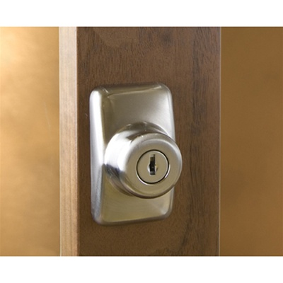 Hampton Satin Nickel Surface Mount Deadbolt
