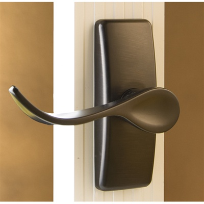 Hampton Oil Rubbed Bronze Surface Mount Handle - Living Finish!