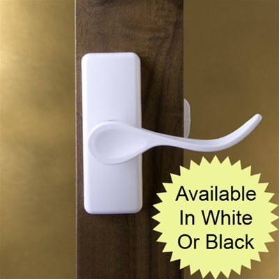 Hampton Surface Mount Handle - White or Black Painted Finish
