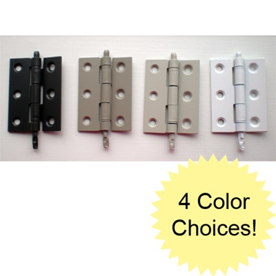 Storm Door Hinge Kit - Set of 5 Hinges