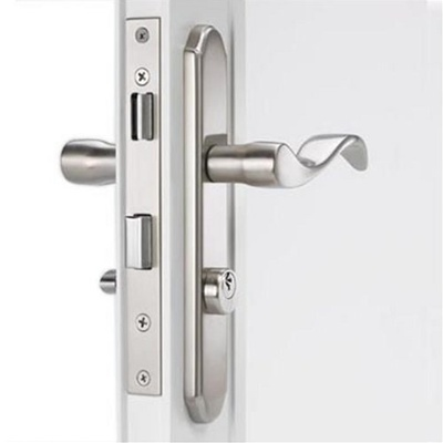 Mortise Storm Door Hardware Satin Nickel