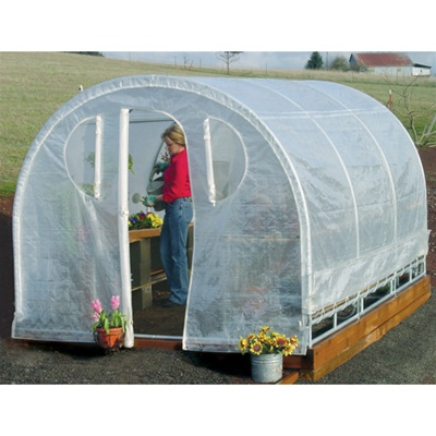 "Weatherguard Greenhouse -  6'6""H x 8'W x 12'L"