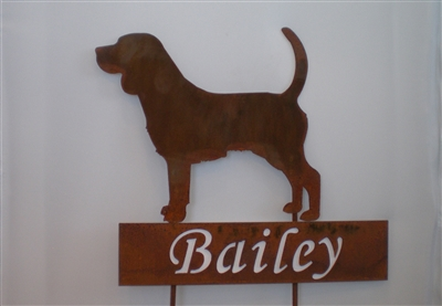 Pet Memorial Marker or Pet Grave Marker-Free Shipping