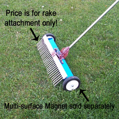 Rake for Multi-Surface Magnet