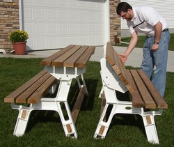 Park Bench Kit-Buy 2 For Picnic Table