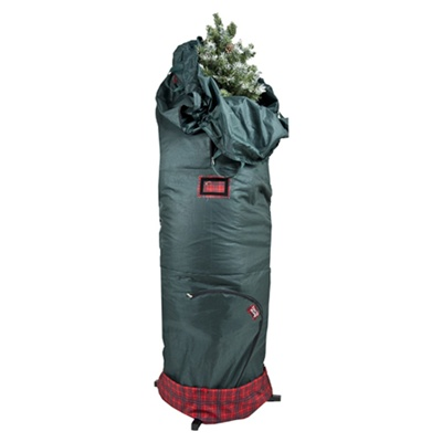 TreeKeeper Adjustable Storage Bag for Large Artificial Hinged Trees, 7.5'-9' tall