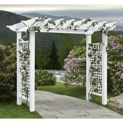 Fairfield Grande Vinyl Arbor Kit Va84231 Free Shipping